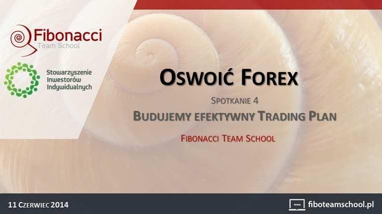 """""""Oswoić Forex""""   Budujemy efektywny Trading Plan   prezentacja"""