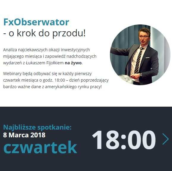 [WEBINAR] FxObserwator   dzisiaj o 18:00   Fibonacci na żywo!