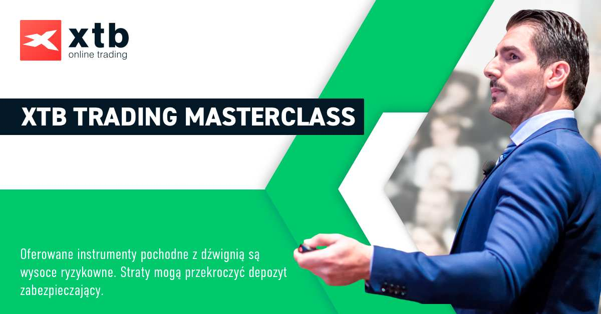 Chcesz zobaczyć wykład Łukasza?! Retransmisja konferencji XTB Trading Masterclass już 21 czerwca!
